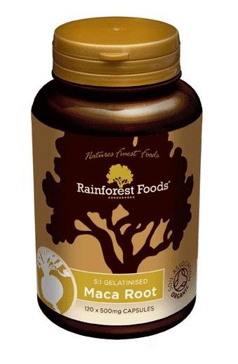 Rainforest maca w tabletkach
