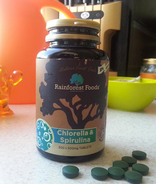 Rainforest Chlorella i Spirulina